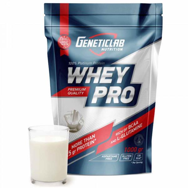 Протеин сывороточный GENETIC LAB WHEY PRO 100%, 1000 г, 33 порции