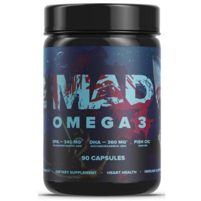 MAD OMEGA-3 1000, 90 капсул, 30 порций