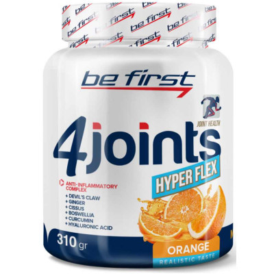 Препарат для связок и суставов BE FIRST 4JOINTS HYPER FLEX POWER, 310 г, 26 порций
