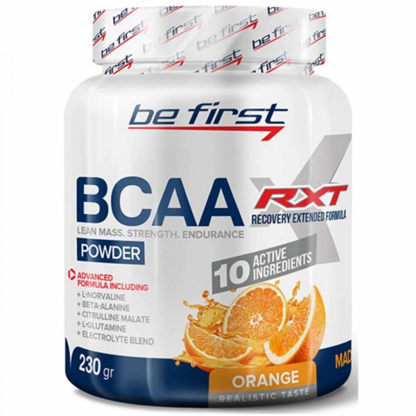 BE FIRST BCAA RXT POWDER, 230 г