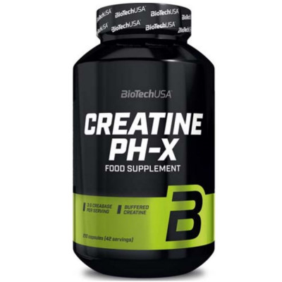 BIOTECH CREATINE PH-X, 90 капсул