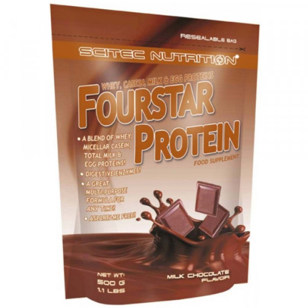 Казеин SCITEC FOUR STAR PROTEIN, 500 г