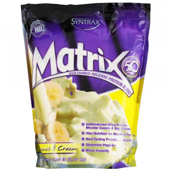 Протеин сывороточный SYNTRAX MATRIX 5.0, 2,27 кг