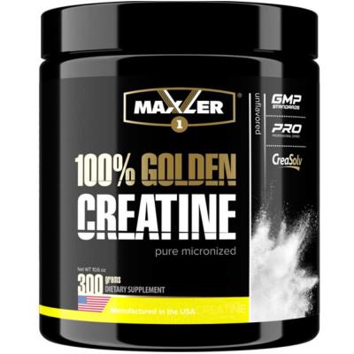 Креатин MAXLER GOLDEN MICRONIZED CREATINE, 300 г