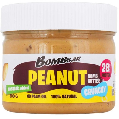 Паста арахисовая BOMBBAR PEANUT BOMB BUTTER, 300 г