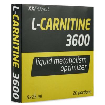 L-карнитин XXI L-CARNITINE 3600, 25 мл