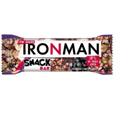 Батончик IRONMAN SNACK BAR, 40 г