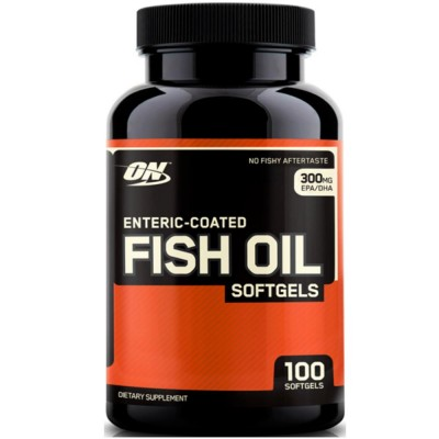 OPTIMUM NUTRITION FISH OIL, 100 капсул