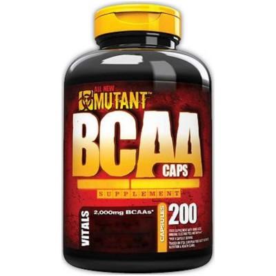 MUTANT BCAA, 200 капсул