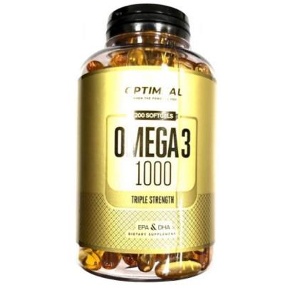 Омега жиры OPTIMEAL OMEGA-3, 200 капсул