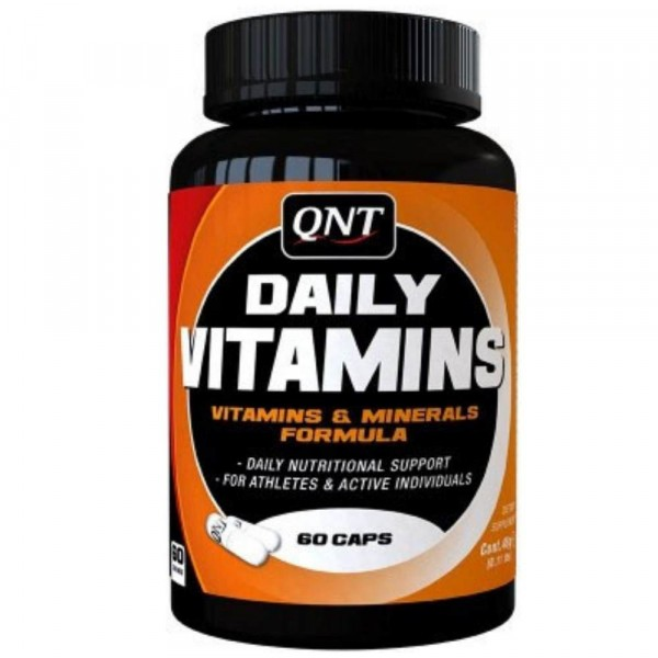 QNT DAILY VITAMINS, 60 капсул