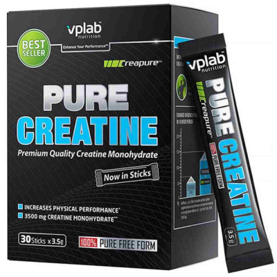 VPLAB PURE CREATINE STICKS, 30 стик\3,5 г
