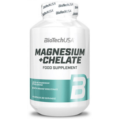 BIOTECH MAGNESIUM + CHELATE, 60 капсул