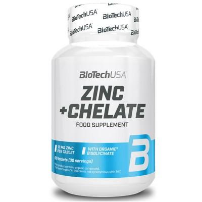 BIOTECH ZINK + CHELATE, 60 таблеток