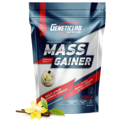 GENETIC LAB MASS GAINER, 1000 г / 10 порций