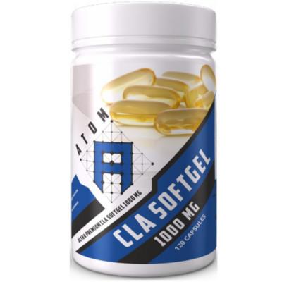 Линолевая кислота ATOM ASN CLA 1000 mg, 120 капсул
