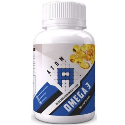 ATOM ASN OMEGA 3 1000 mg, 90 капсул