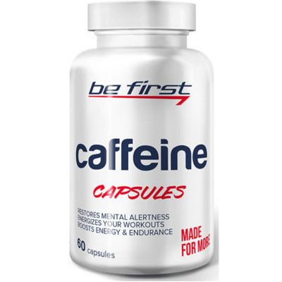BE FIRST CAFFEIN, 60 капсул