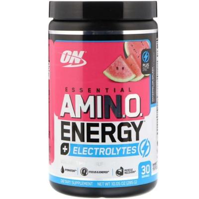 OPTIMUM ESSENTIAL AMINO ENERGY + ELECTROLYTES, 285 г, 30 порций