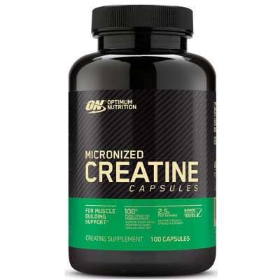 Креатин OPTIMUM MICRONIZED CREATINE 2500, 100 капсул