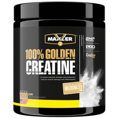 MAXLER GOLDEN MICRONIZED CREATINE, 1000 г