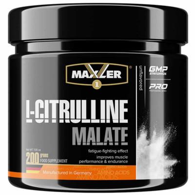 MAXLER L-CITRULINE MALATE, 200 г