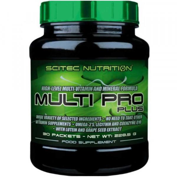 Витаминно-минеральный комплекс SCITEC MULTI PRO PLUS, 30 пакетов