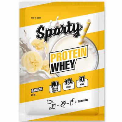 Протеин сывороточный SPORTY, 25 г, 1 порция