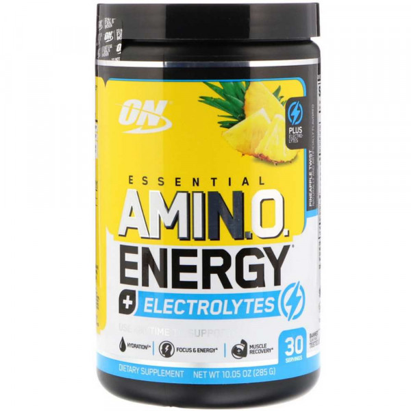 Комплекс аминокислот OPTIMUM NUTRITION AMINO ENERGY + ELECTROLYTES, 270 г, 30 порций