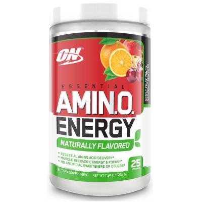 Комплекс аминокислот OPTIMUM NUTRITION AMINO ENERGY NATURALLY FLAVORED, 270 г, 30 порций