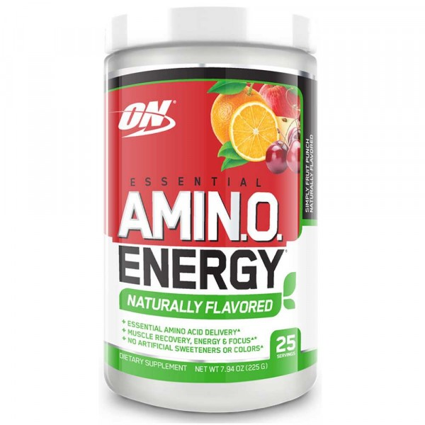 Комплекс аминокислот OPTIMUM NUTRITION AMINO ENERGY NATURALLY FLAVORED, 270 г, 30 порций