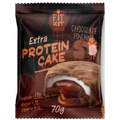 Печенье протеиновое FIT KIT PROTEIN CAKE EXTRA, 70 г
