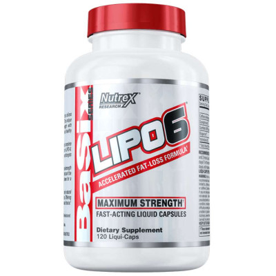 Жиросжигатель NUTREX LIPO-6, 60 капсул