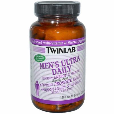 Витаминно-минеральный комплекс TWINLAB MENS ULTRA DAILY CAPS, 120 капсул