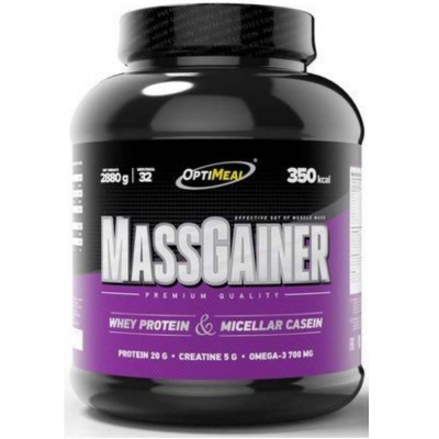 Гейнер OPTIMEAL MASS GAINER, 2880 г, 32 порций