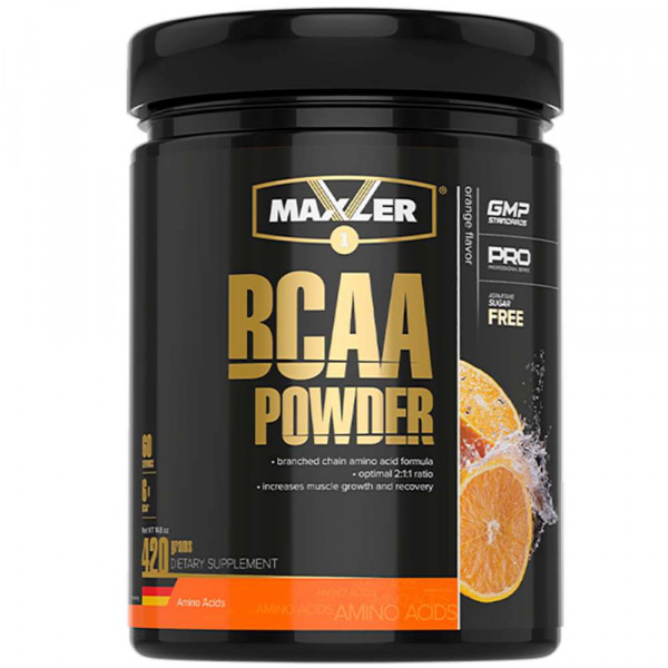 MAXLER BCAA POWDER 2:1:1, 420 г, 60 порций