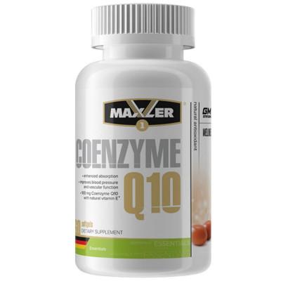 Коэнзим MAXLER COENZYME Q10, 60 капсул