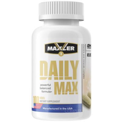 Витаминно-минеральный комплекс MAXLER DAILY MAX, 100 таблеток