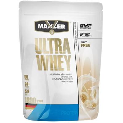 Протеин сывороточный MAXLER ULTRA WHEY без лактозы, 900 г, 30 порций