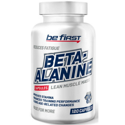 Бета-аланин BE FIRST BETA ALANINE POWDER, 120 капсул