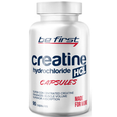 Креатин BE FIRST CREATINE HCL, 90 капсул
