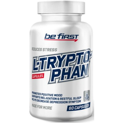 Триптофан BE FIRST L-TRYPTOPHAN, 60 капсул