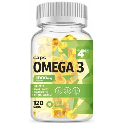 Омега жиры 4ME NUTRITION OMEGA-3, 120 капсул