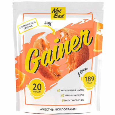 Гейнер NOT BAD GAINERS, 1000 г