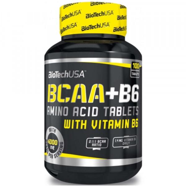 BIOTECH USA BCAA+B6, 100 таблеток