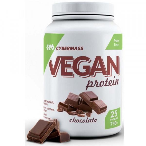 Растительный протеин CYBERMASS VEGAN, 750 г