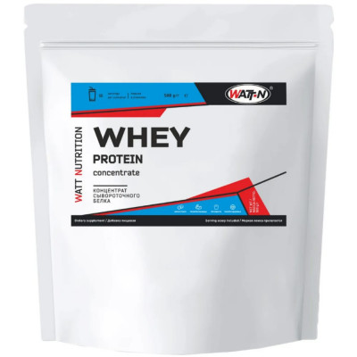 Протеин сывороточный WATT NUTRITION PROTEIN WHEY 80%, 500 г, 16 порций