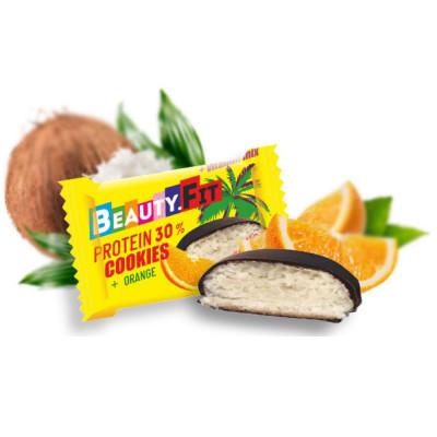 Печенье протеиновое BEAUTY FIT COOKIES PROTEIN 30 %, 40 г
