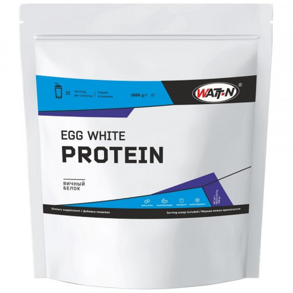 Протеин яичный WATT NUTRITION PROTEIN EGG 82 %, 1 кг