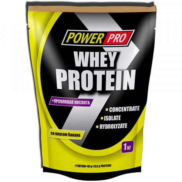Протеин сывороточный POWER PRO PROTEIN WHEY, 1000 г